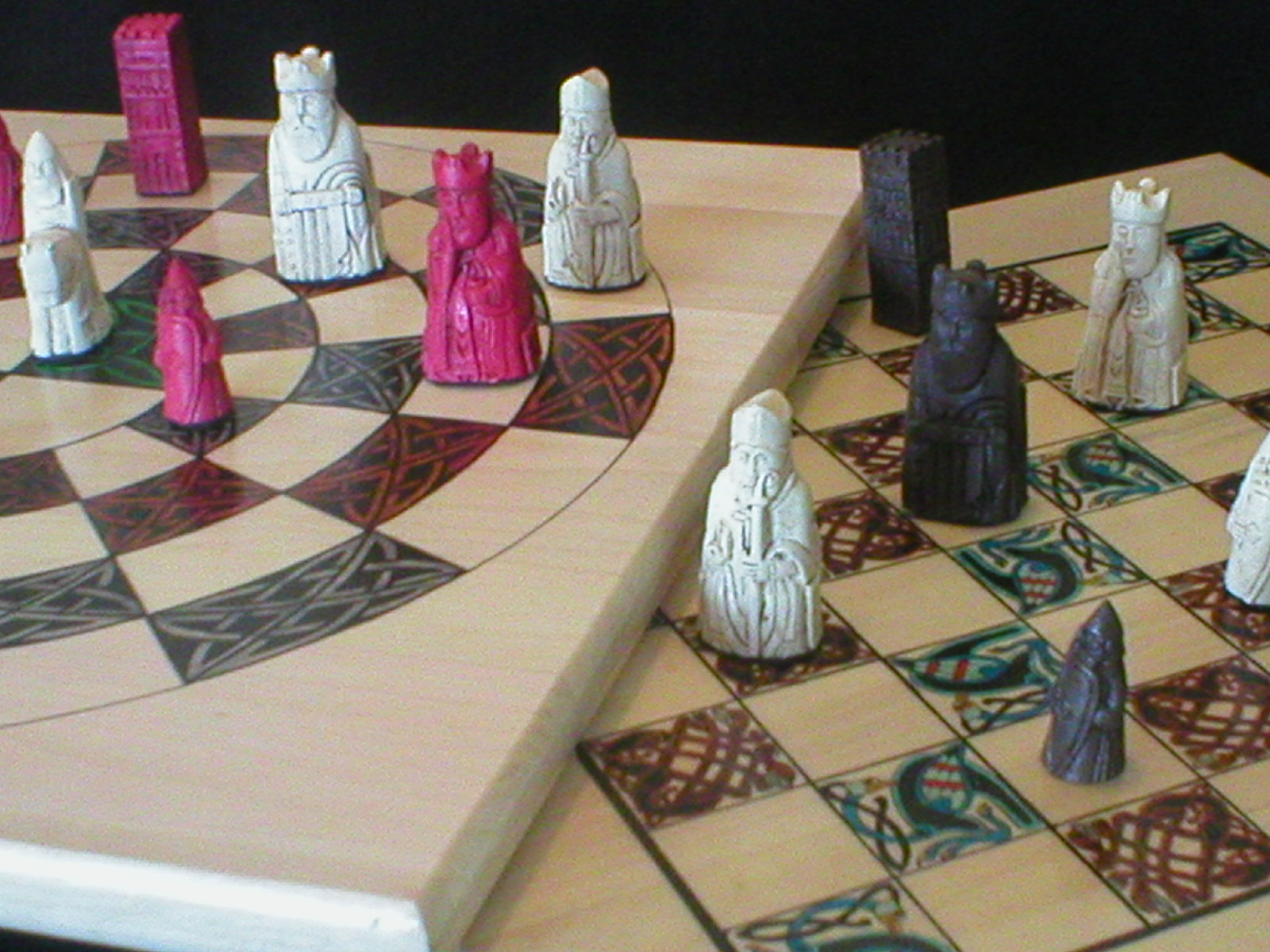 Two Sided Chess Board