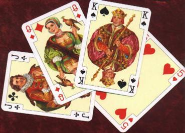 Fancy Austrian playing cards