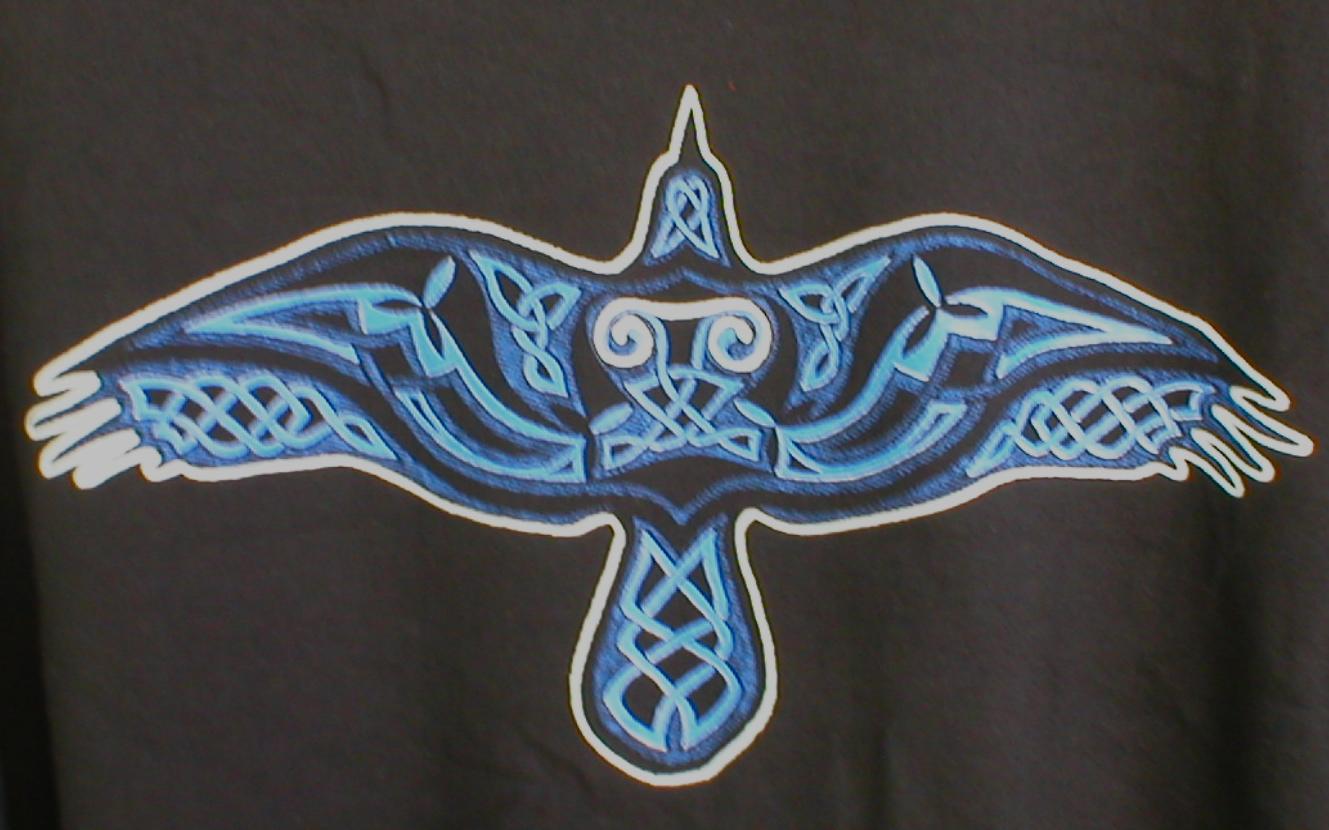 rose amp pentagram design art celtic amp norse knotwork