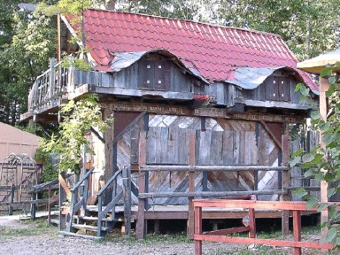 Historic Merchants Idea Box Renaissance Faire Booths